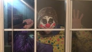 REAL KILLER CLOWN CAUGHT ON TAPE