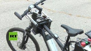 Desarrollan una bicicleta que circula sola