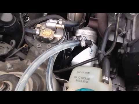 Cleaning Volvo V70 2.5TDI injectors using Wynns Diesel Purge