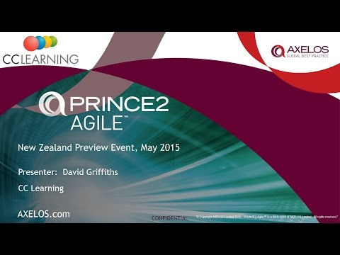 PRINCE2® Agile - CC Learning presentation in Wellington, New Zealand