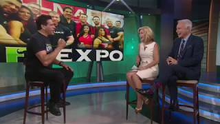 Lou Ferrigno talks making jump from bodybuilding to 'The Incredible Hulk,' the FlexPo fitness expo