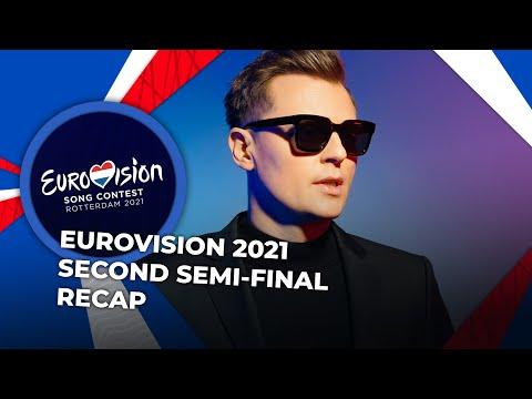 Eurovision 2021 | Second Semi-Final | RECAP
