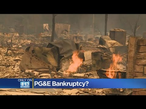 Lawmakers Say PG&E Talking Bankruptcy After October Wildfires