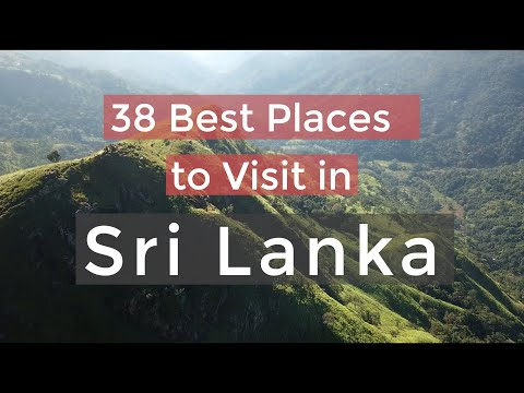 38 Best Places to visit in Sri Lanka | TOP 38 Places in Sri Lanka for Solo Travel