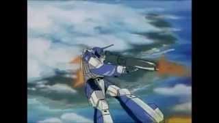 Robotech Batalla Max y Miriya versión Japonesa