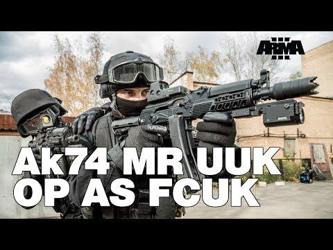 ARMA 3 RHS KOTH: AK-74 MR UUK OP as fcuk