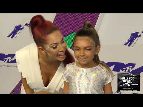 Farrah Abraham at the 2017 MTV Video Music Awards at The Forum in Los Angeles