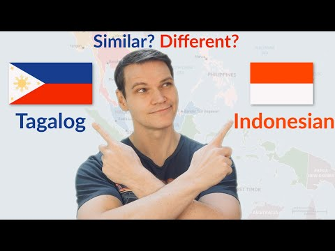 How Similar are Tagalog and Indonesian?