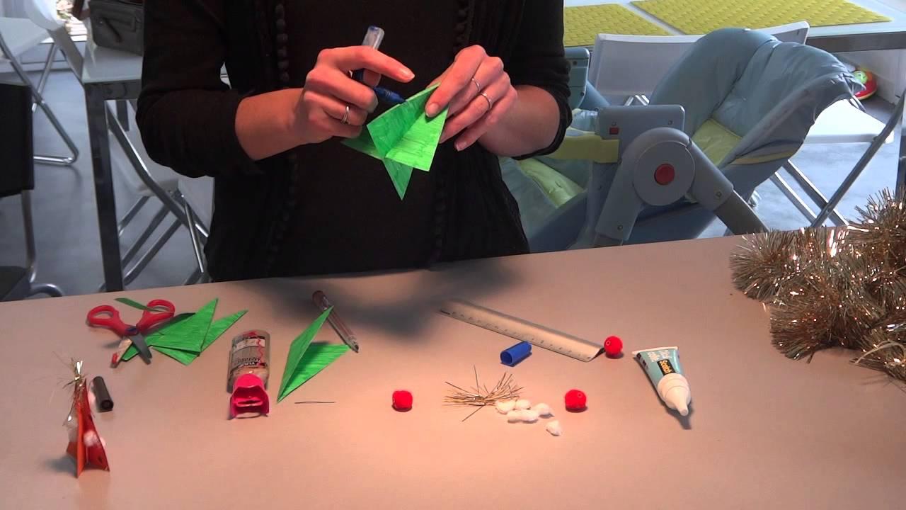 Préférence activité noël : sapin pour les tous petits - YouTube WH75