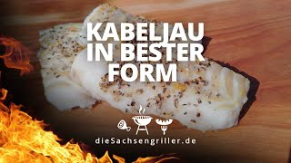 Saftiges Kabeljau Filet, besser geht es nicht / how to grill cod filler - die sachsengriller
