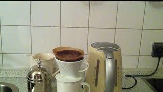 Kaffee kochen ohne Maschine - Tutorial zum Kaffee kochen mit Tasse und Filter