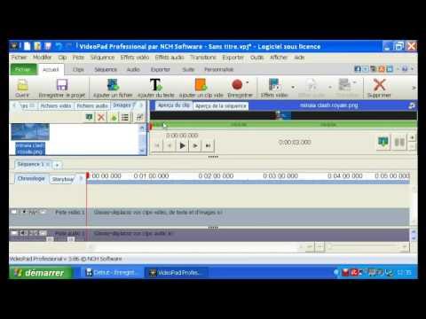 TuTo comment utiliser un logiciel de montage [vidéo pad ] !