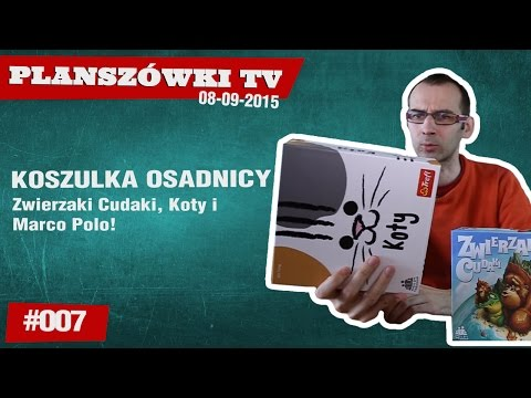 Planszówki TV #007 - Koszulki Osadnicy