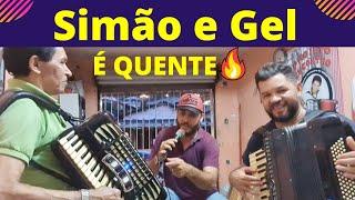 A SANFONA do SIMÃO mão BOBA toca Luiz GONZAGA e Trio NORDESTINO em ARRASTA PÉ