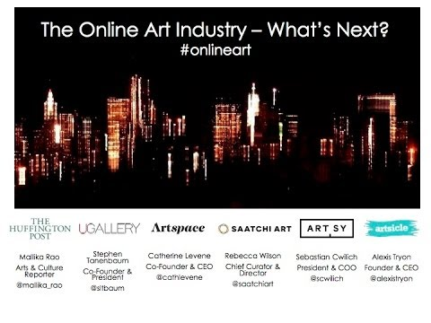THE ONLINE ART INDUSTRY—WHAT'S NEXT? - NYCxDesign May 15, 2014