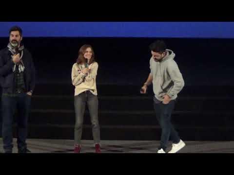 """Avant première à Evreux du film """"Love Addict'"""" avec Kev Adams, Mélanie Bernier et Frank Bellocq"""