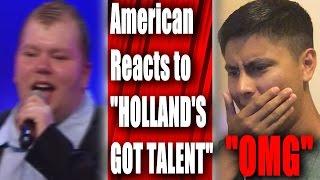nick nicolai verplettert de jury met zijn stem hollands got talent reaction