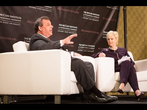 Leadership Voices Series: Human Trafficking - Mrs. Cindy McCain and Governor Chris Christie