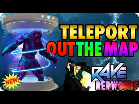 Rave In The Redwoods Glitches: New! Teleport Out The Map (Using Transponder) - Infinite Warfare