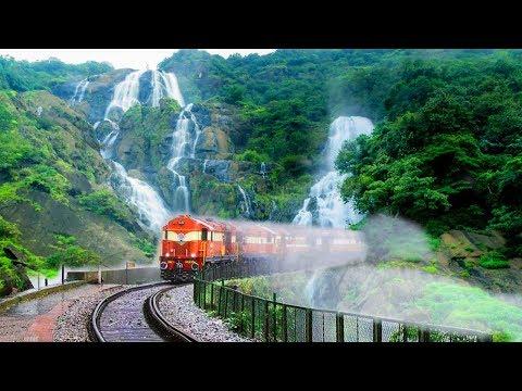 TOP 10 Most Beautiful Railway Routes In INDIA | भारत में 10 सबसे सुंदर रेलवे की सवारी