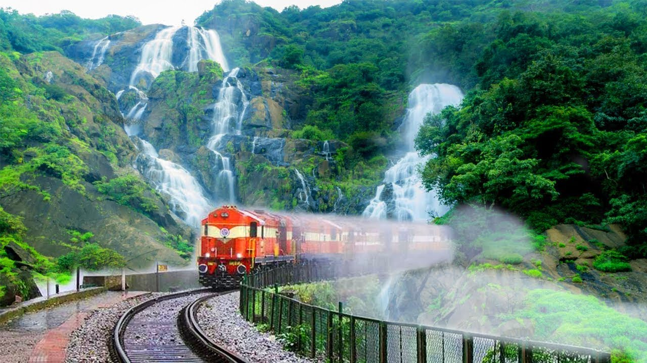 TOP 10 Most Beautiful Railway Routes In INDIA