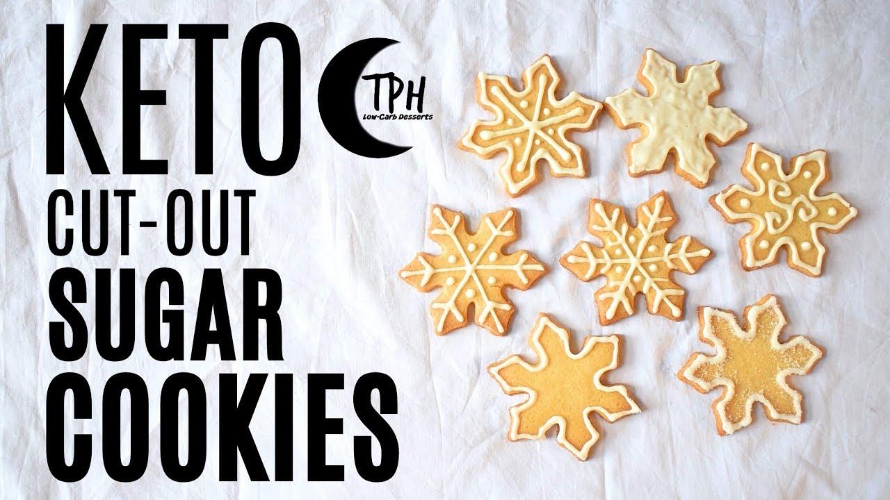 Keto Cut Out Sugar Cookies Keto Royal Icing Recipe