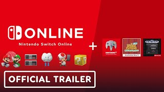 Nintendo Switch Online + Expansion Pack - Official Trailer