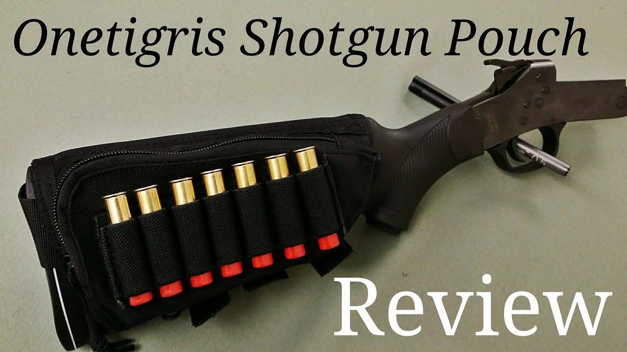 Onetigris Tactical Buttstock Shotgun Rifle Shell Holder Cheek Rest