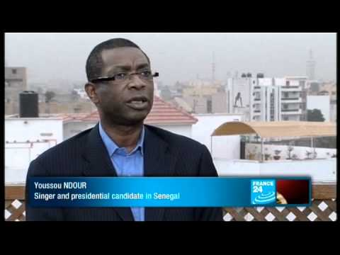 Senegal - Youssou NDour, Singer and Senegalese presidential candidate
