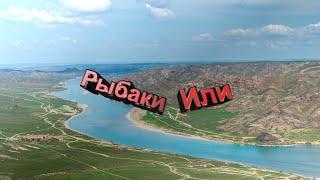 Поехали на рыбалку на карантине Рыбалка на Реке Или район Кочевников Капчагай