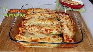 Tavuklu Kabak Sandal Tarifi -İftara özel yemekler/Hayalimdeki Yemekler