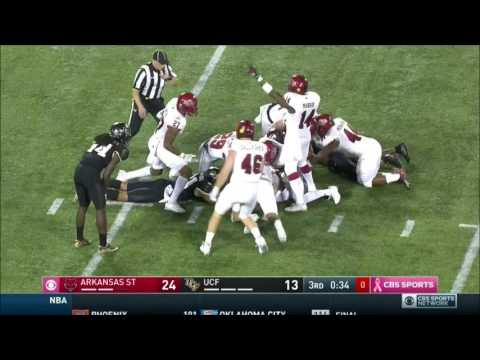 2016 Cure Bowl (Arkansas State vs. Central Florida)