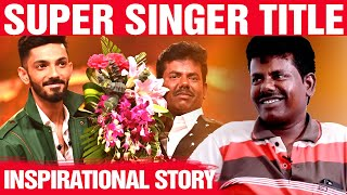 WOW: Super Singer Winner Mookuthi Murugan's Stunning journey