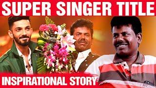WOW: Super Singer Winner Mookuthi Murugan's Stunning journey