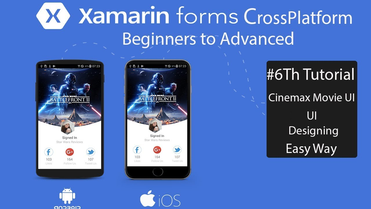 maxresdefault Xamarin Ui Forms Examples on shell title view, custom renderer, profile codes, forms search box, forms master-detail, tablet application, settings page, forms navigation, forms listview, login page border, forms filtering,