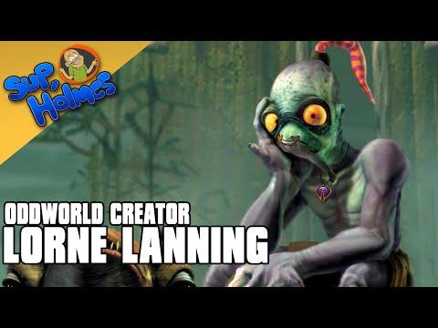 Lorne Lanning (Oddworld) - Sup, Holmes? Ep 122
