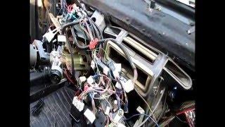 Шумоизоляция моторного щитка Ваз2115,(проклейка) панели приборов и всего пластика автомобиля