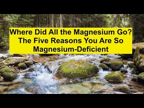Where Did All The Magnesium Go? The Five Reasons You Are So Magnesium-deficient