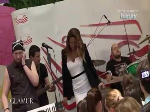 Ana Nikolic - Proslava Rodjendana Shopping Centra Stadion - Glamur - (TV Happy 2015)