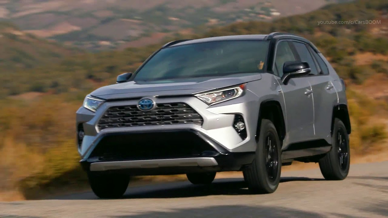 2019 toyota rav4 xse hv silver sky metallic youtube. Black Bedroom Furniture Sets. Home Design Ideas