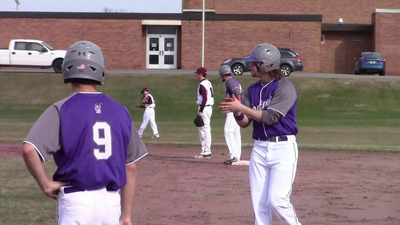 NCCS - Ticonderoga Baseball  4-23-19