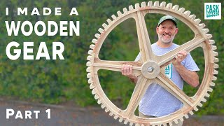 How to Make a Laŗge Wooden Gear/Cog Part 1