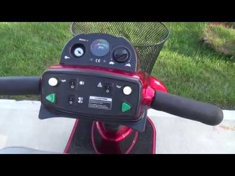 Pride Legend 3-wheel scooter for sale by Dynoscoop