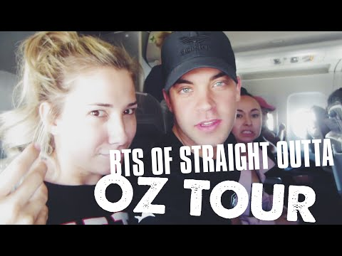 BTS OF STRAIGHT OUTTA OZ WORLD TOUR