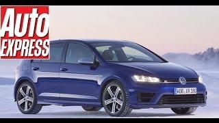 Volkswagen Golf R hot hatch vs the big freeze