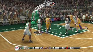PS2 - NBA Live 09 - GamePlay