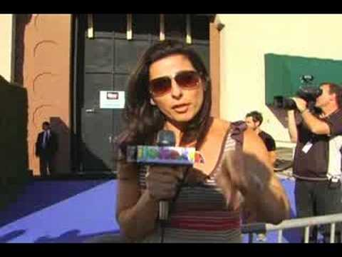 Kira Soltanovich at the Comedy Central Roast of Bob Saget