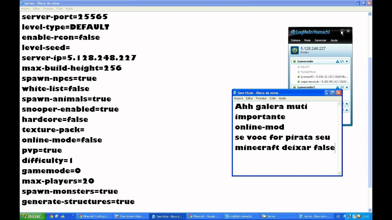 minecraft 1.3.2 pirata no baixaki
