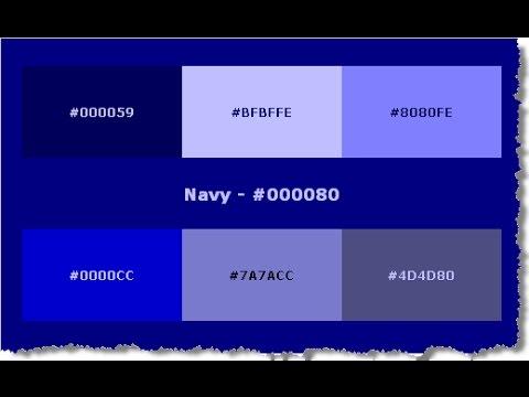 Cara Mudah Mengetahui Kode HTML Untuk Warna Apapun