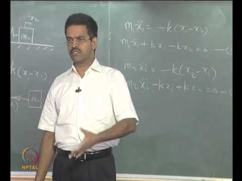Mod-01 Lec-18 Two degrees - of - freedom systems
